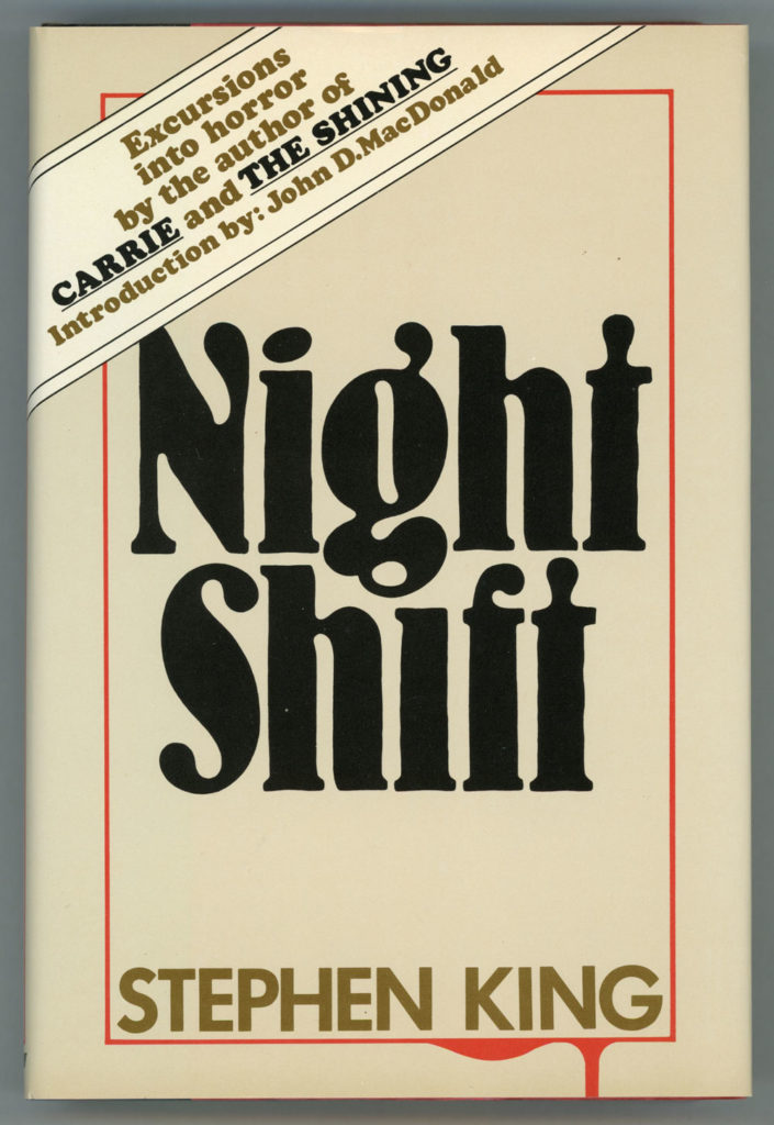 "Original cover for Stephen King's ""Night Shift"""
