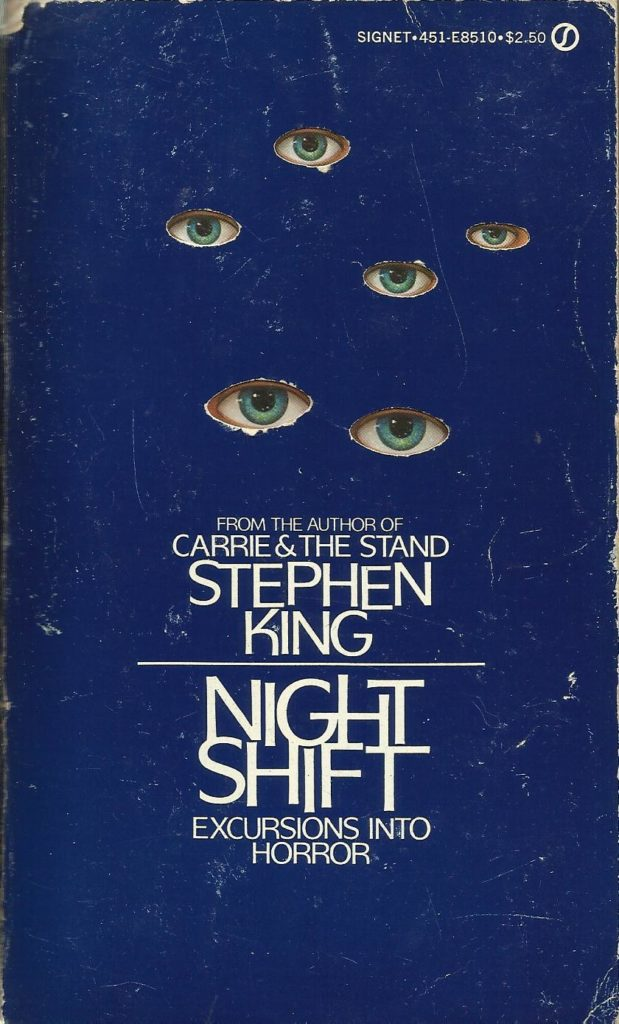 Signet Books cover for the anthology Night Shift