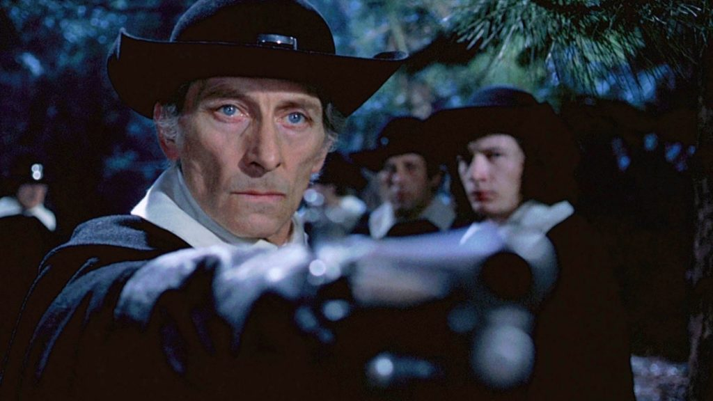 Peter Cushing in Twins of Evil
